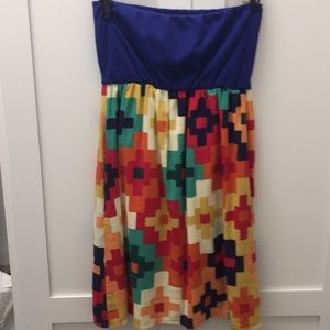 Strapless dress by Judith March. Size small